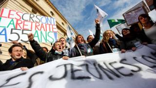 Окончателно – реформата мина във френския сенат