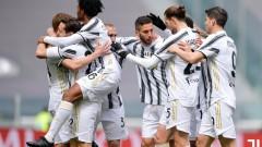 Ювентус на точка зад Милан, Мората с щастливо попадение