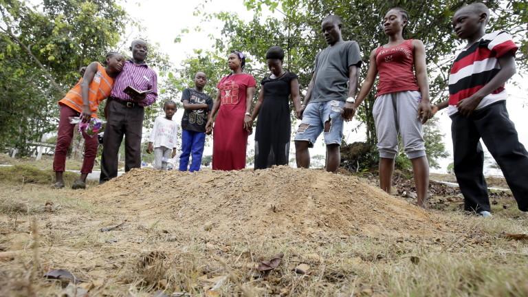 Снимка: Ново огнище на Ебола в Конго