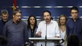 """Лидерът на """"Подемос"""" иска коалиционно управление с испанските социалисти"""