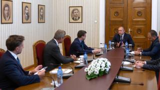 Президентът обсъди перспективи за увеличаване на инвестициите от САЩ у нас