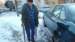 Над 50 коли в Пловдив осъмнаха с нарязани гуми
