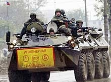 Един загина при експлозия във военна база в Чечня