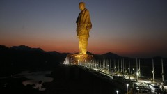 Това е най-високата статуя в света