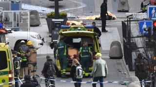 Взрив край метростанция в Стокхолм