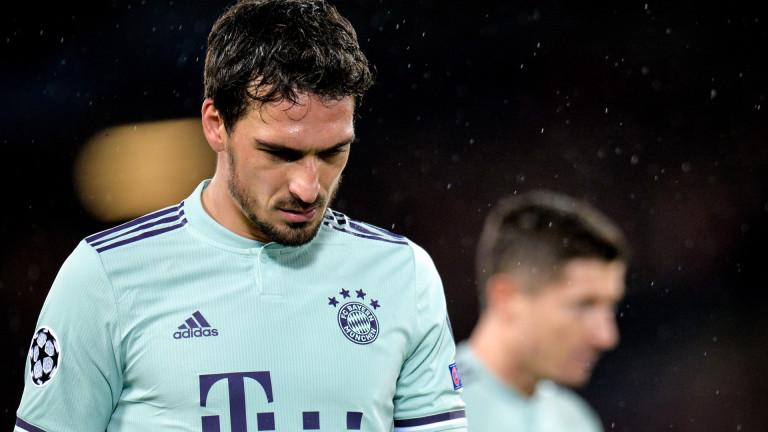 Хумелс: Трябва да победим у дома, никой не обича да гостува в Мюнхен