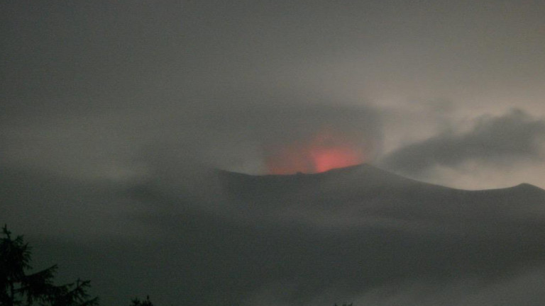 Японската метеорологична агенция заяви, че планината Асама в централна Япония