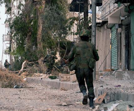 Бунтовнически атаки затвориха международното летище в Алепо