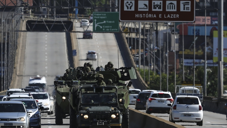 Бандити превзеха бразилски град за няколко часа и ограбиха банка