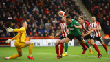 Шефилд Юнайтед пропусна да изпревари Тотнъм след равенство с Брайтън