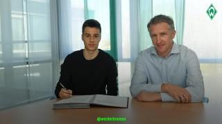 Синът на Илия Груев подписа първия си професионален договор с Вердер
