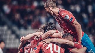 Чехите разнебитиха Черна гора и се изравниха с Англия в групата на България