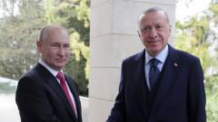 Путин обясни на Ердоган, че не се е разболял от Covid защото е ваксиниран