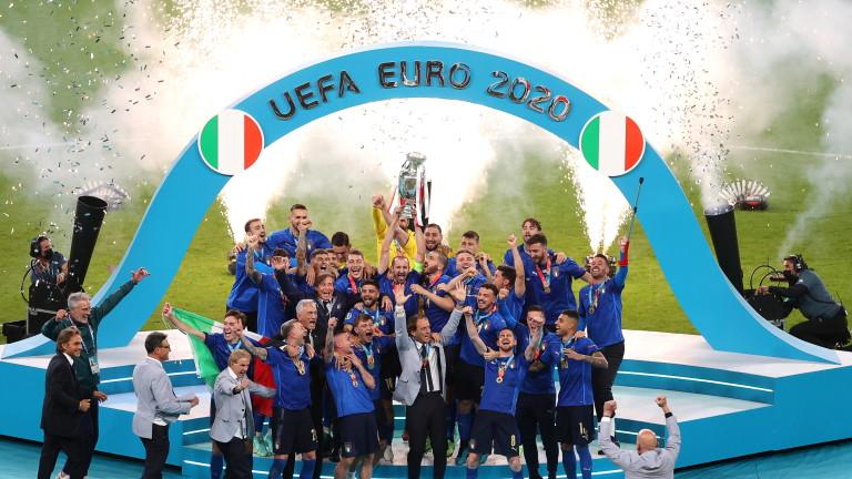 """Италия надви Англия на """"Уембли"""" във финала на Евро 2020"""