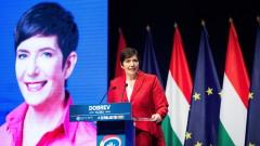 Проевропейката Клара Добрев спечели първия тур на първичните избори на опозицията в Унгария
