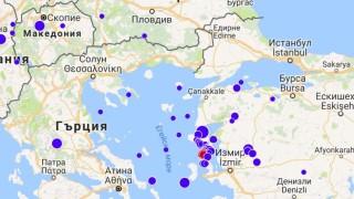 Нова серия от земетресения в Егейско море