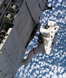 Discovery се отдели от космическата станция