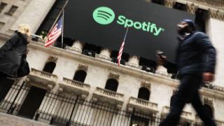 Spotify излезе на печалба за първи път в историята си - благодарение на инвестиция в Tencent
