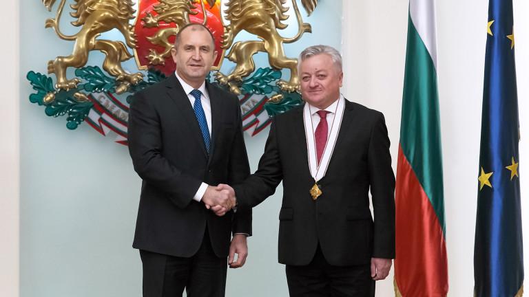 Президентът благодари на молдовския посланик за помощта за Тараклийския университет