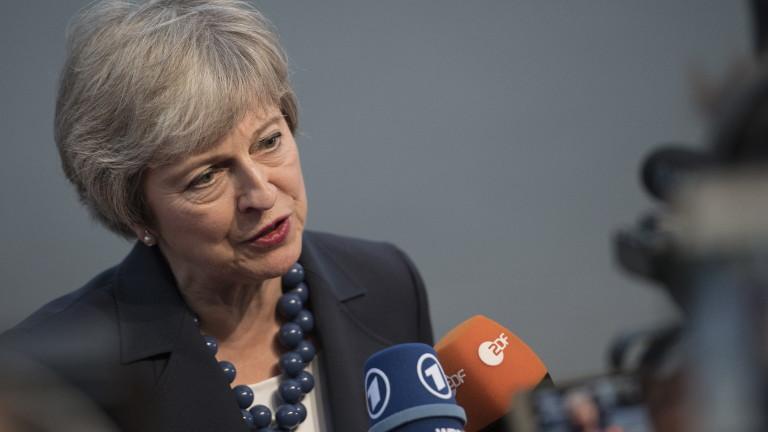 Мей: ЕС да промени позицията си за Брекзит