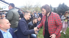 Нинова обвини ГЕРБ, че лишили българите от човешко достойнство