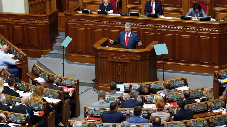 Президентът на Украйна Петро Порошено предупреди, че има риск международните