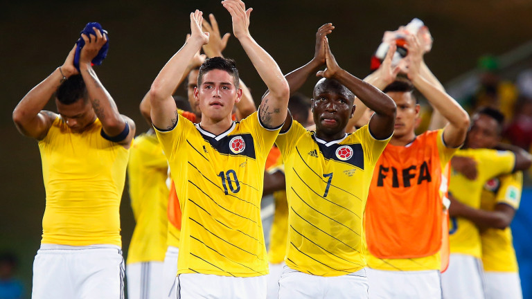 Колумбия 19 юни 15:00 Япония 1′