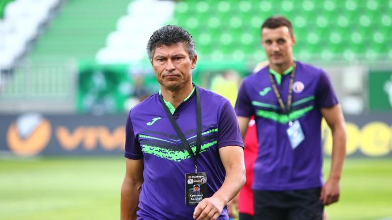 Треньорът на Етър - Красимир Балъков, коментира очакванията си за