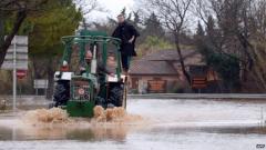 Наводненията на Лазурния бряг взеха 16 жертви