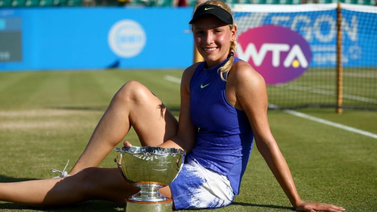 Донна Векич попари домакините в Нотингам и спечели втора титла в кариерата си