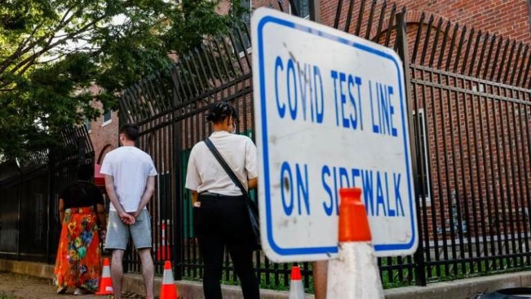 Ръст на починалите от COVID-19 в САЩ