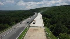 """До 25 май изкърпват шосето на АМ """"Тракия"""" между 113 и 111 км"""