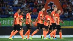 Шахтьор с резервите срещу Реал (Мадрид)