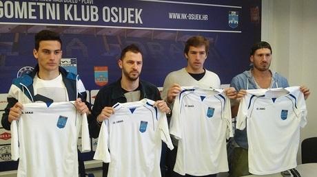Осиек представи Даниел Пеев и български уругваец