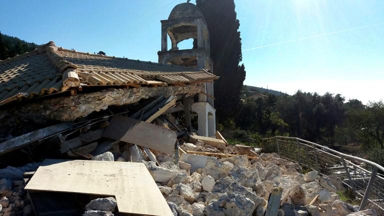 Около 900 сгради са пострадали силното земетресение, което вчера разлюля