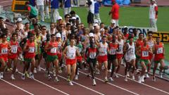 Финал на маратона в Москва