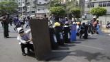 Полицията в Мианмар предприема репресии срещу протестиращите