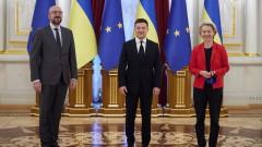 Зеленски призна безсмислеността на въпросите завлизането на Украйна в ЕС