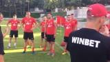 ЦСКА тренира с група от 26 футболисти