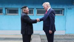 """В Северна Корея приветстват срещата между Тръмп и Ким като """"невероятно събитие"""""""