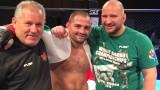 """Росен Димитров беше изпратен подобаващо от публиката в Перник в последния си мач, много """"железни"""" победи на TWINS MMA 15"""