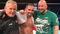 """Близнака беше изпратен подобаващо от публиката в Перник в последния си мач, много """"железни"""" победи на TWINS MMA 15"""
