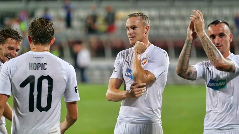 Левскарят Роман Прохазка с нов гол при победа на Виктория (Пилзен)