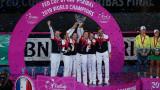 """Франция спечели """"Фед Къп"""" след победа над Австралия в Пърт"""