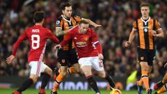 Манчестър Юнайтед - Хъл Сити 2:0 (Развой на срещата по минути)
