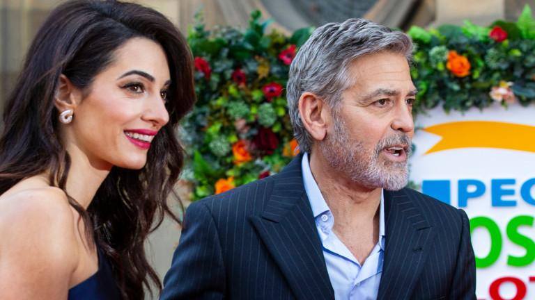 Не бяхме виждали Джордж и Aмал Клуни заедно от няколко