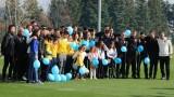 Младежките национали подадоха ръка на деца с диабет