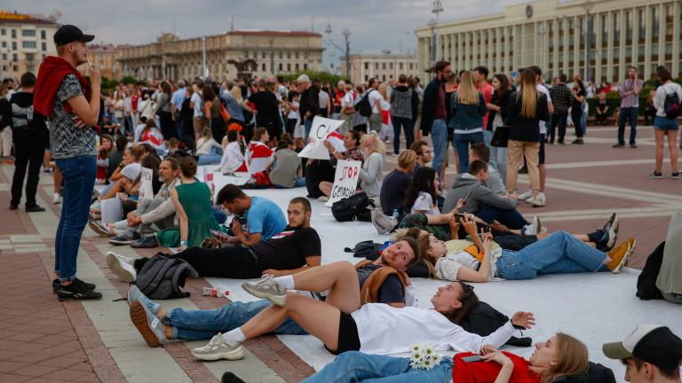 В Беларус организират най-големия протест след седмица на гняв