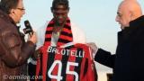 Балотели: Най-после съм в Милан!