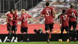 """Скоростните атаки на Манчестър Юнайтед оставиха РБ Лайпциг без футболни аргументи на """"Олд Трафорд"""""""